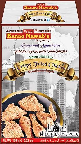 Ustad Banne Nawab's Crispy Fried Chicken Masala