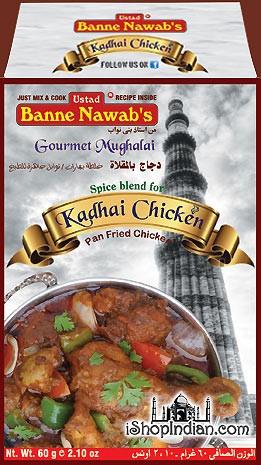 Ustad Banne Nawab's Kadhai Chicken Masala