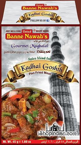 Ustad Banne Nawab's Kadhai Goshth Masala