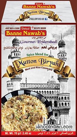 Ustad Banne Nawab's Nawabi Mutton Biryani Masala