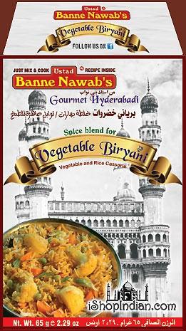 Ustad Banne Nawab's Vegetable Biryani Masala