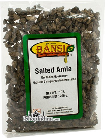 Bansi Salted Amla (Dry Indian Gooseberry Pieces)