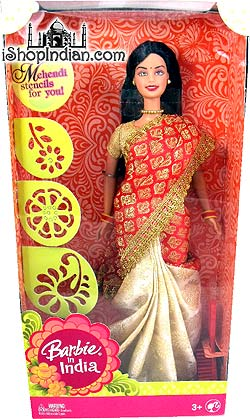 Barbie In India - Red
