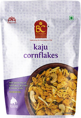 Bhikharam Chandmal Kaju (Cashew) Cornflakes