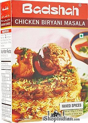 Buy Badshah Brand Masalas and Spice Mixes Here