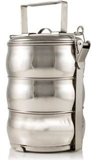 Stainless Steel Tiffin (food carrier) - 3 tier