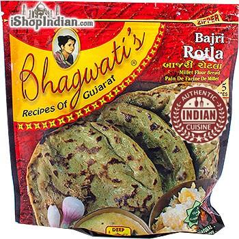 Bhagwati's Bajri Rotla - 5 pcs (FROZEN)