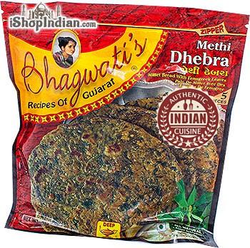Bhagwati's Methi Dhebra -5 pcs (FROZEN)