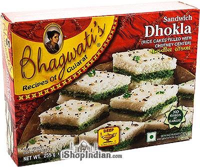 Bhagwati's Sandwich Dhokla (FROZEN)