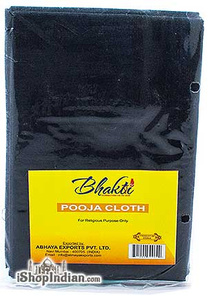 Bhakti Pooja Cloth - Black