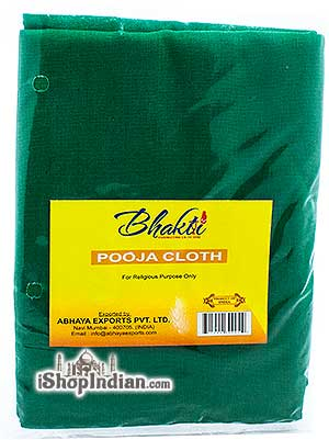 Bhakti Pooja Cloth - Green