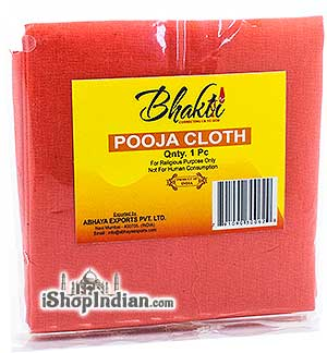 Bhakti Pooja Cloth - Orange