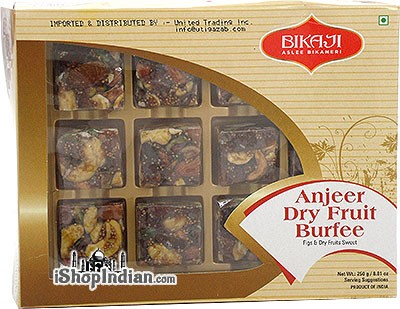 Bikaji Anjeer Dry Fruit Burfee (Figs & Dry Fruits Sweet)