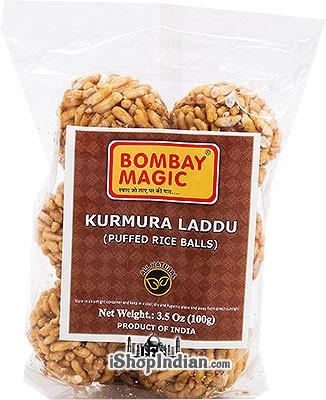 Bombay Magic Kurmura Laddu (Puffed Rice Balls)