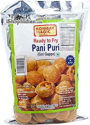 Bombay Magic Ready To Fry Pani Puri (Gol Gappe)