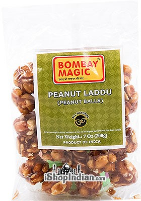 Bombay Magic Peanut Laddu (Peanut Balls)