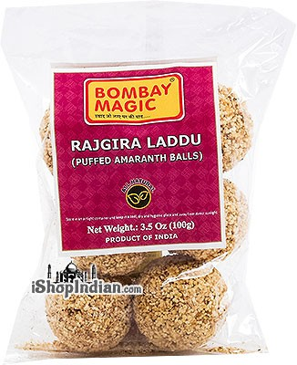 Bombay Magic Rajgira Laddu (Puffed Amaranth Balls)