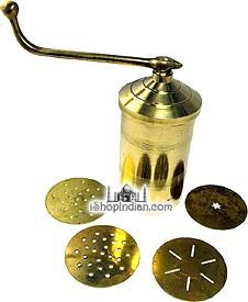 Sev Sancha / Noodle Extruder (Brass)