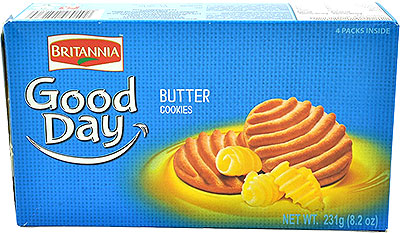 Britannia Good Day Butter Cookies - 8.15 oz