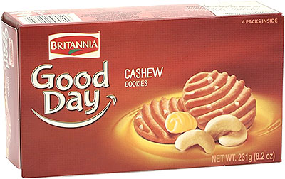 Britannia Good Day Cashew Cookies - 8.15 oz