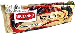Britannia Date Roll Cookies