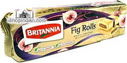 Britannia Fig Roll Cookies (Pack of 4)