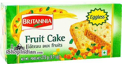 Britannia Fruit Cake - Eggless - 9.7 oz