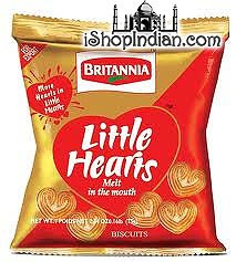 Britannia Little Hearts Biscuits (4 Pack)