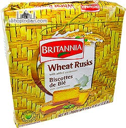 Britannia Wheat Rusks (with added cardamom)