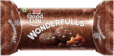 Britannia Good Day WonderFulls Choco & Nuts