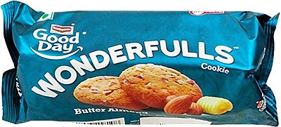Britannia Good Day WonderFulls Butter Almond