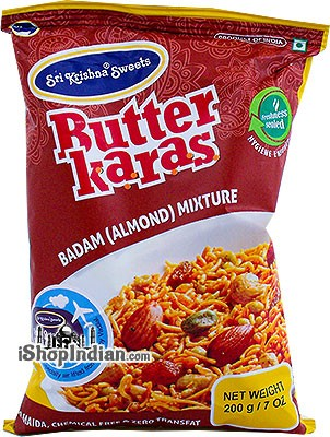 Sri Krishna Sweets Butter Karas -  Badam (Almond) Mixture