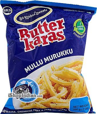Sri Krishna Sweets Butter Karas - Mullu Murukku