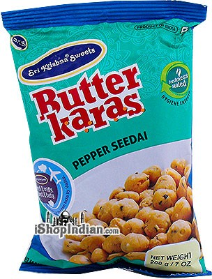 Sri Krishna Sweets Butter Karas - Pepper Seedai