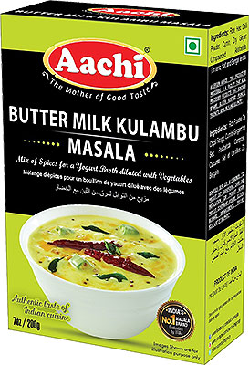 Aachi Butter Milk Kulambu (More Kulambu) Masala