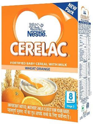 Nestle Cerelac - Wheat Orange - Stage 2