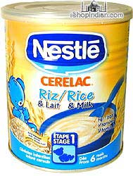 Nestle Cerelac - Rice & Milk
