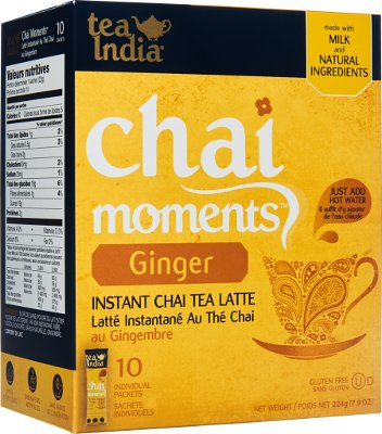 Tea India Chai Moments - Instant Ginger Tea