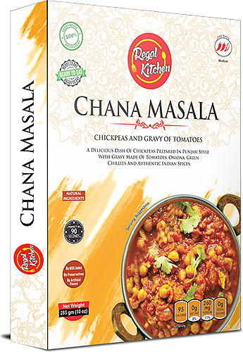 Regal Kitchen Chana Masala (Ready-to-Eat) - BUY 2 GET 1 FREE!
