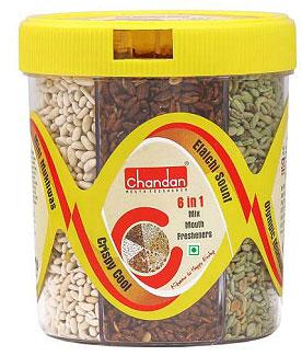 Chandan 6 in 1 Mukhwas (mouth freshener) Tin