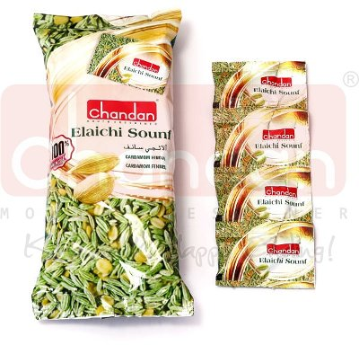 Chandan Elaichi Sounf - Cardamom Fennel Mouth Freshener Sachets