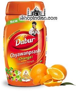 Dabur Chyawanprash Ayurvedic Supplement - Orange Flavor