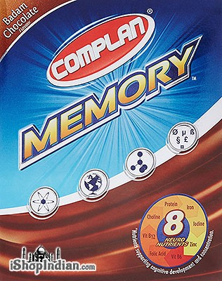 Complan Vitamin Drink - Memory - Badam (Almond) Chocolate