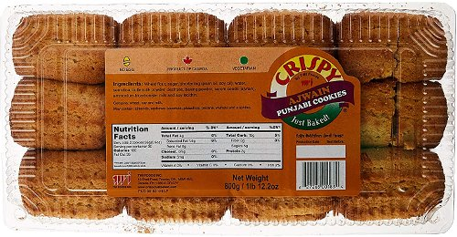 Crispy Ajwain Punjabi Cookies