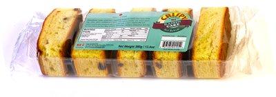 Crispy Raisin Cake