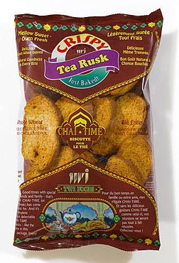 Crispy Tea Rusk - Whole Wheat