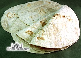 Crispy 100% Roti - 100% Whole Wheat