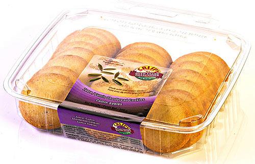 Crispy Zeera / Cumin Shortbread Cookies
