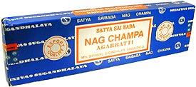 Satya Sai Baba Nag Champa Incense - 40 gms