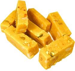 Nirav Dry Nut Barfi (nut fudge)